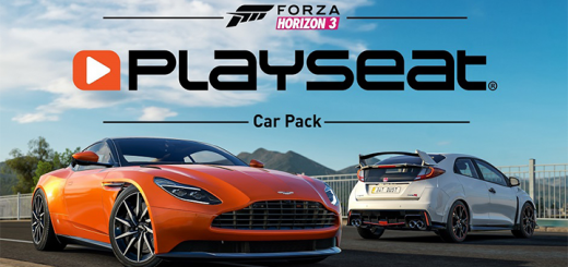 Forza Horizon 3 Playseat Car Pack