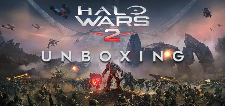 Unboxing Halo Wars 2