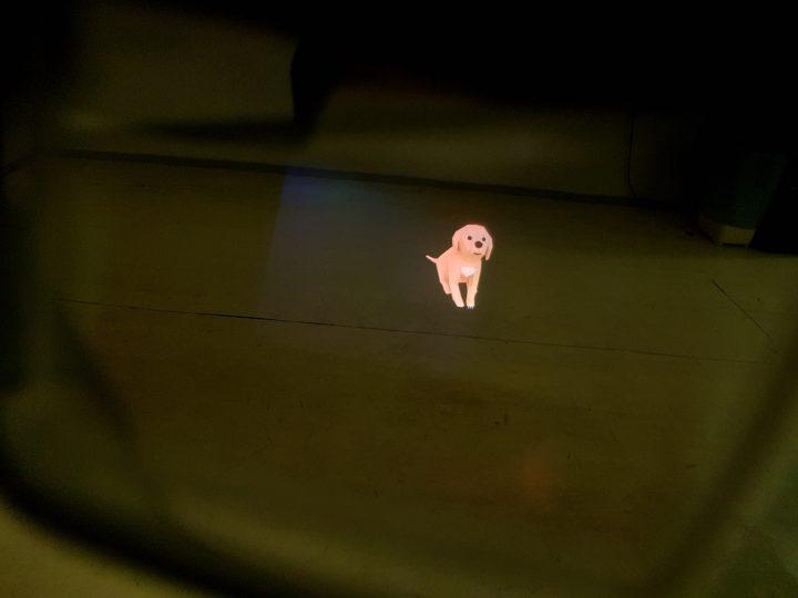 HoloLens Dog Hologram