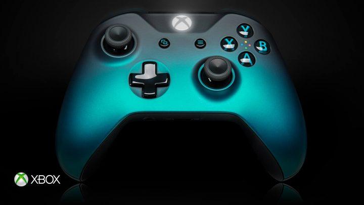 Xbox One Ocean Shadow Wireless Controller
