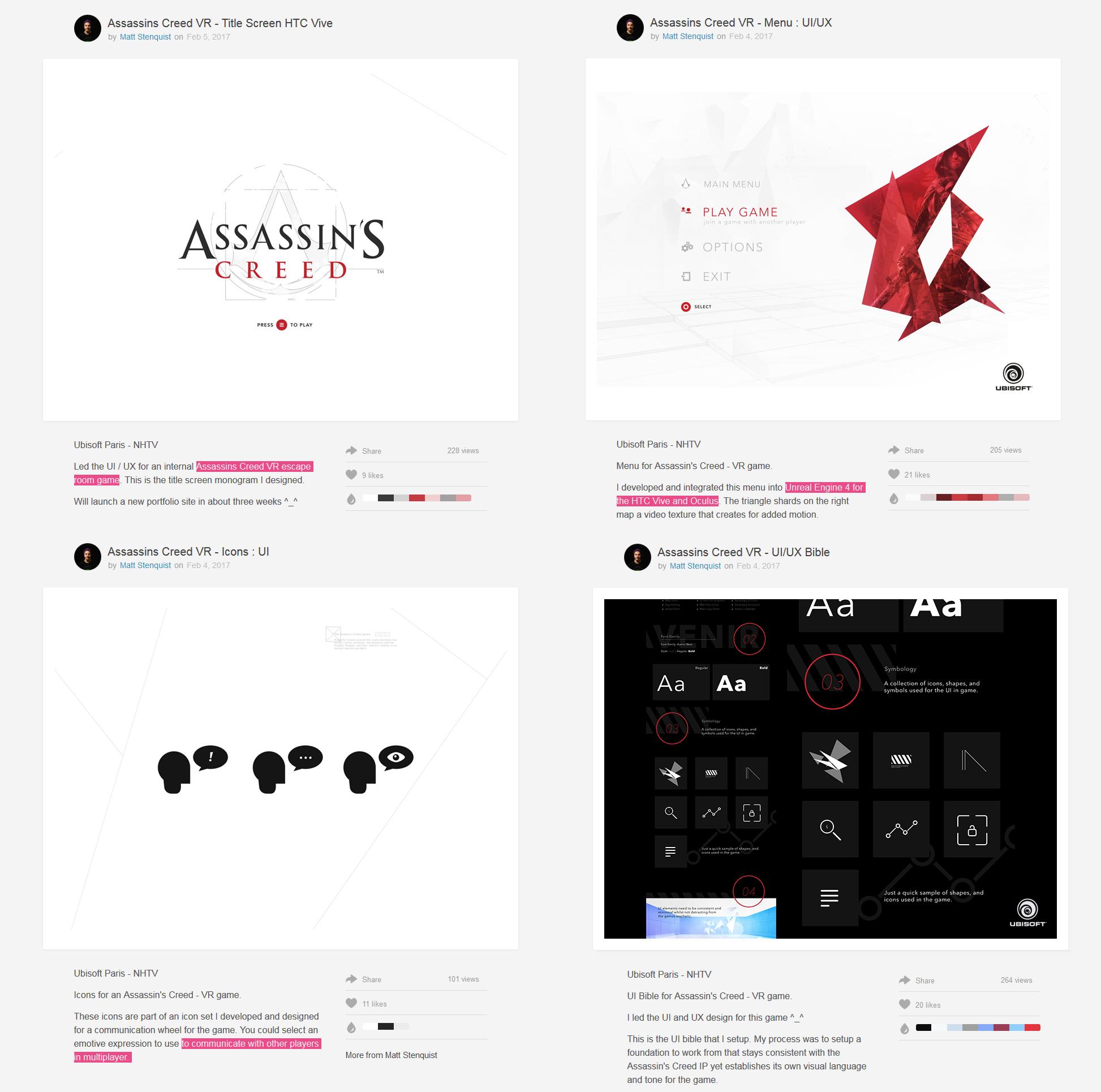 Assasssin's Creed VR