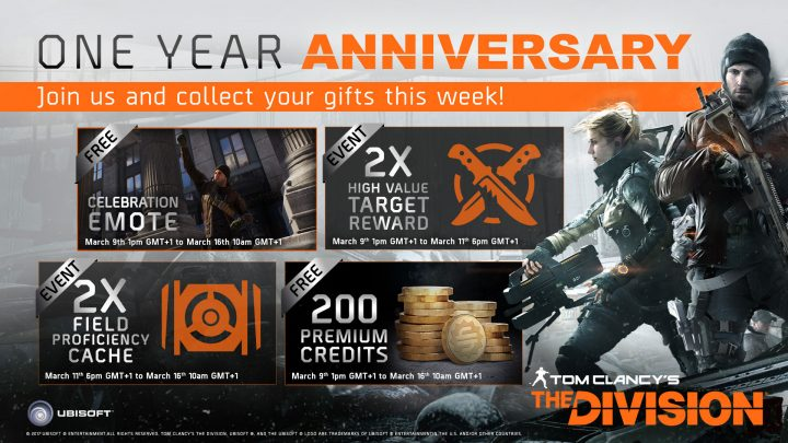The Division One Year Anniversary