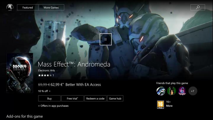 Xbox Store Creators Update Game Trailers