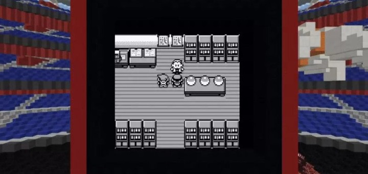 Pokémon Red Minecraft