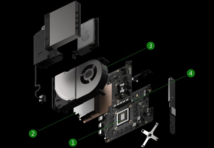 Project Scorpio Cooling
