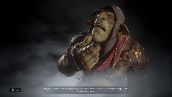 Styx Shards of Darkness Death Screen