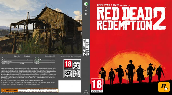 Xbox Scorpio Game Cover Sample