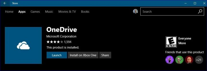 Windows Store Install on Xbox One