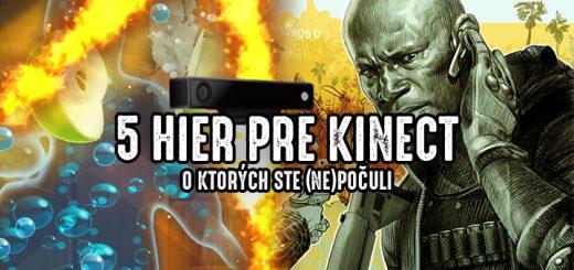 5 hier pre Kinect, o ktorých ste nepočuli
