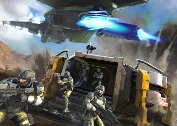 Halo Wars 2 Bunker Drop