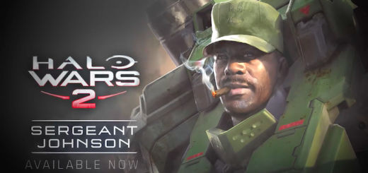 Halo Wars 2 Sergeant Johnson