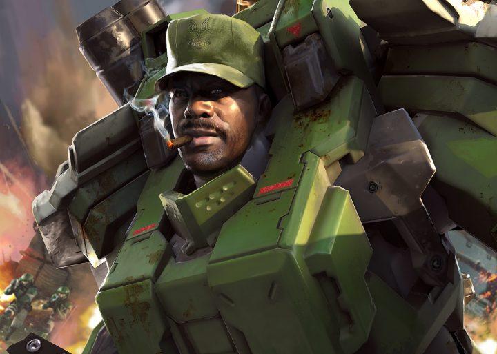 Halo Wars 2 Sergeant Johnson
