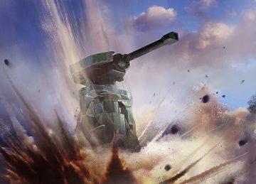 Halo Wars 2 Siege Turret Drop