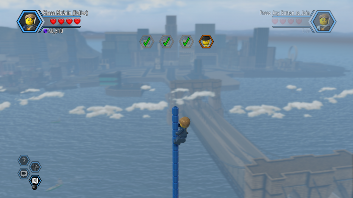 LEGO City Undercover Parkour