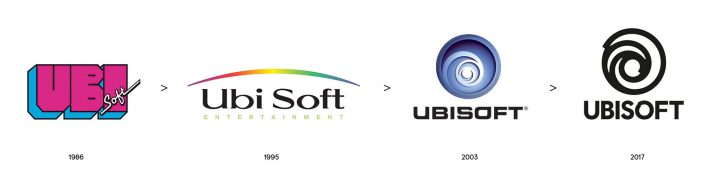 Ubisoft Logo Evolution