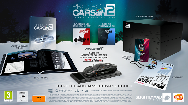 Project CARS 2 Collectors Edition