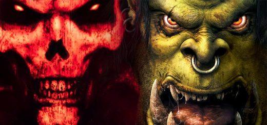 Diablo II and Warcraft III