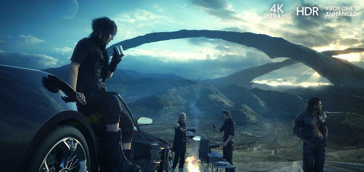 Final Fantasy 4K HDR