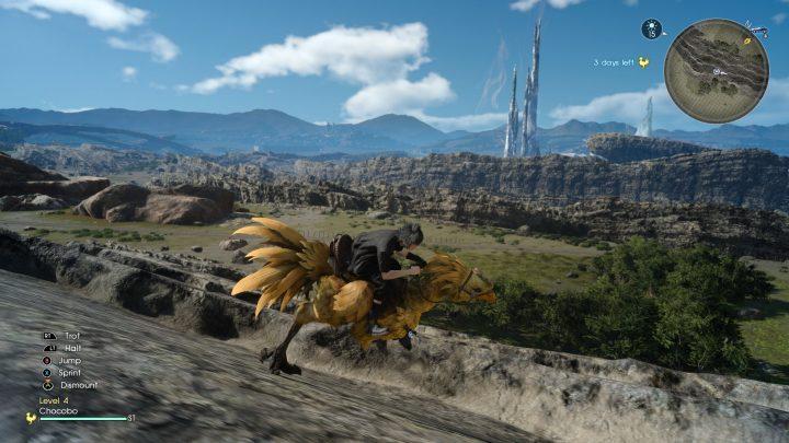 Final Fantasy XV Xbox One X