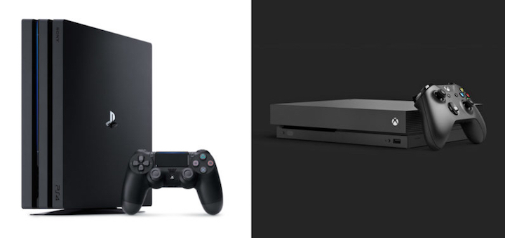 PS4 Pro vs Xbox One X