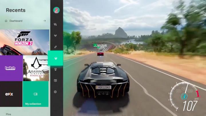 Xbox One Fluent Design Language