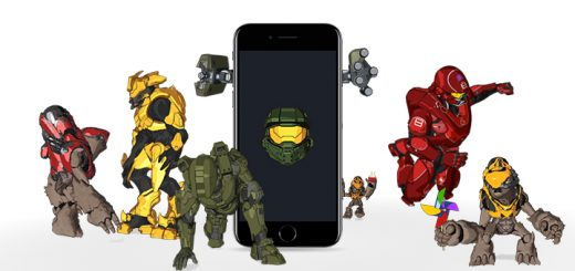 Halo iPhone Stickers
