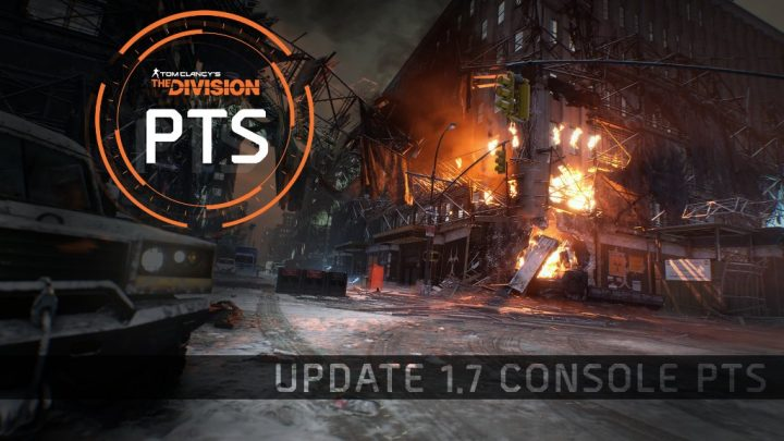 The Division Update 1.7 Console PTS