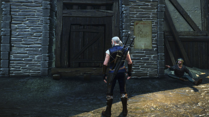 Witcher 3 Blood and Wine Door