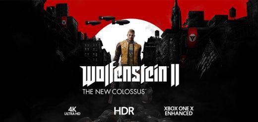 Wolfenstein II 4K HDR