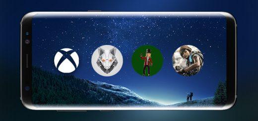Xbox App Galaxy S8