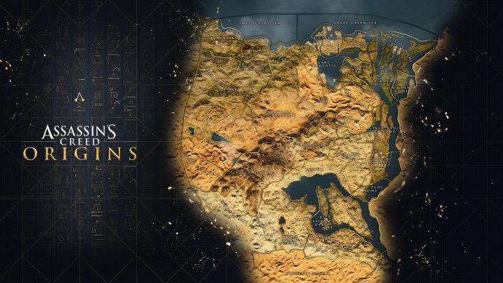 Assassin's Creed Origins Mapa