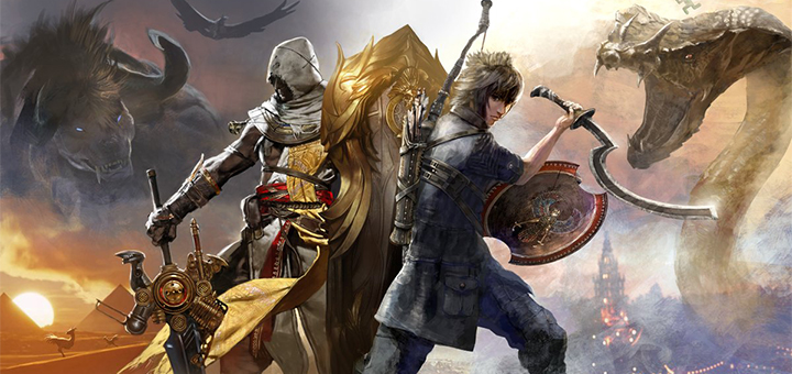 Assassin's Creed Origins x Final Fantasy XV