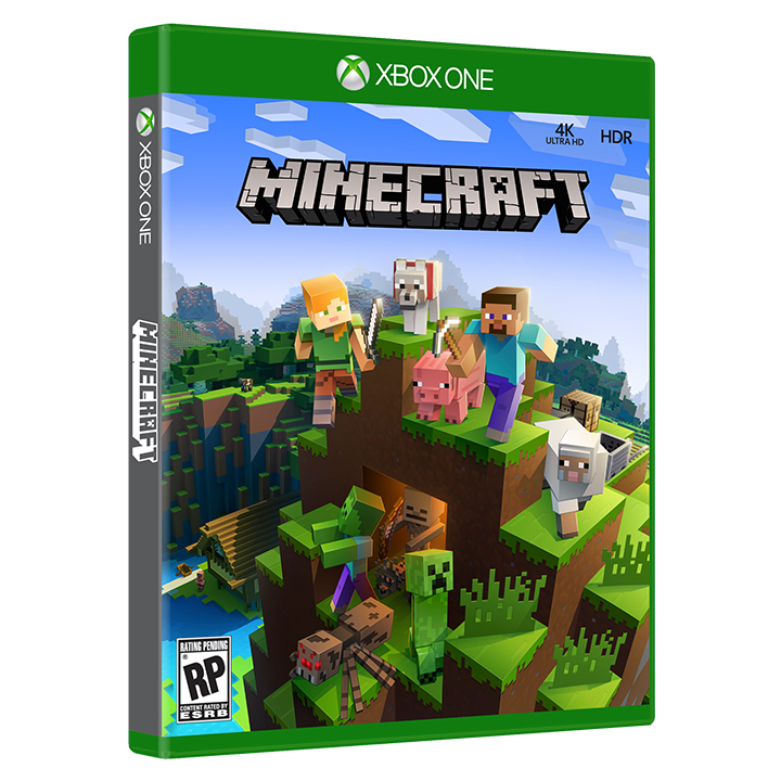 Minecraft Xbox One 2017 Cover