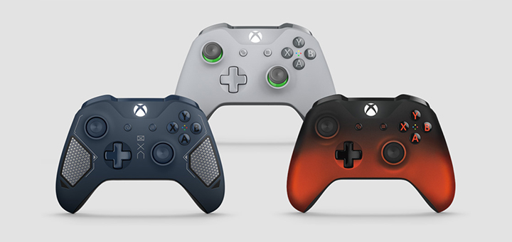 Xbox One Wireless Controller Fall 2017