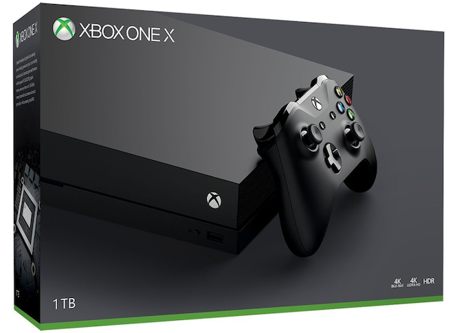 Xbox One X Packaging
