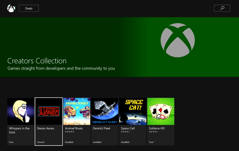 Xbox Live Creators Collection