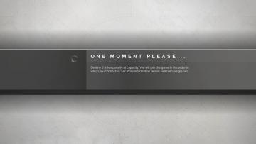 Destiny 2 Server Capacity Full