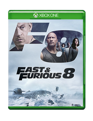 Fast & Furious Xbox Cover