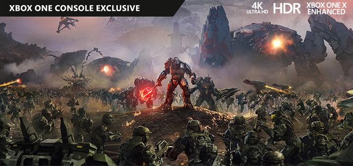Halo Wars 2 4K HDR Xbox One X
