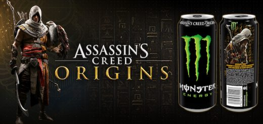 Assassin's Creed Origins Monster Energy