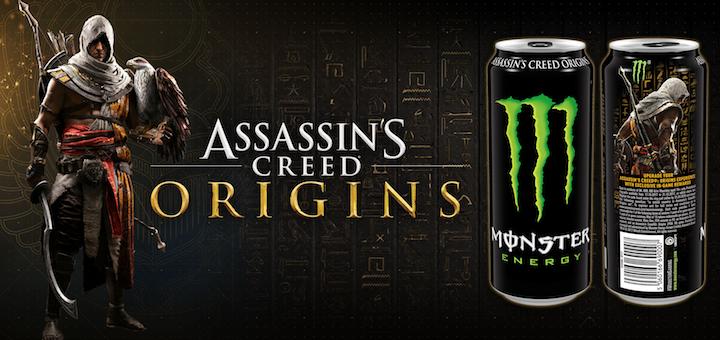 Assassin's Creed Origins Monster Energy