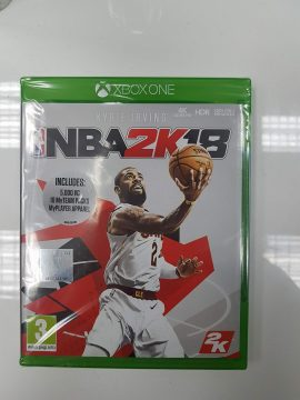 NBA 2K18 Xbox One X Enhanced Back