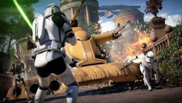 Star Wars Battlefront 2 Theed City Tank Battle