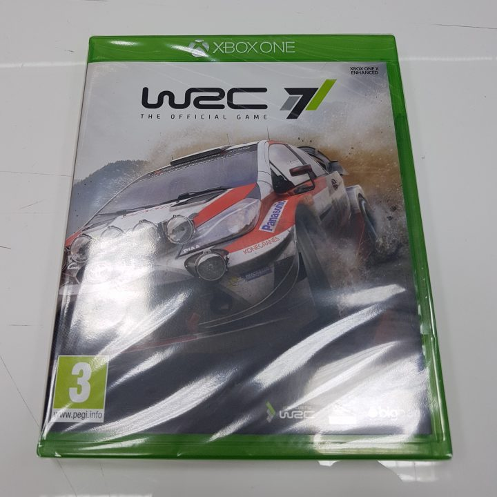 WRC7 Xbox One X Enhanced Front
