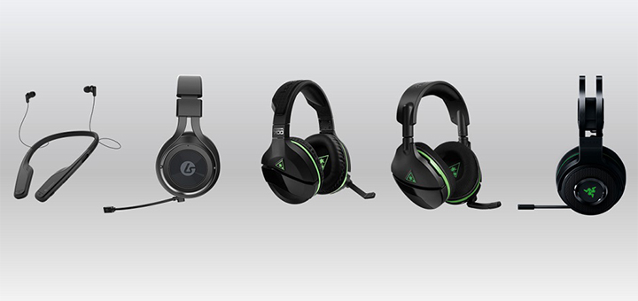Xbox Wireless Headset Fall 2017