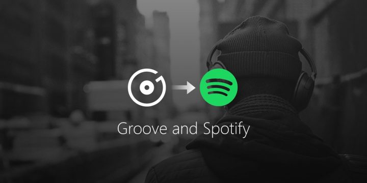Groove Music Pass to Spotify