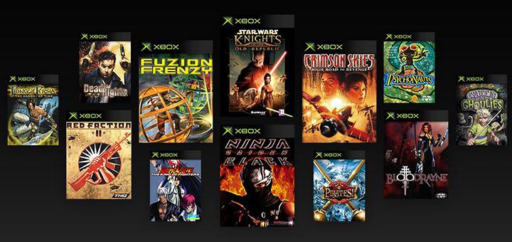 Original Xbox Backwards Compatibility