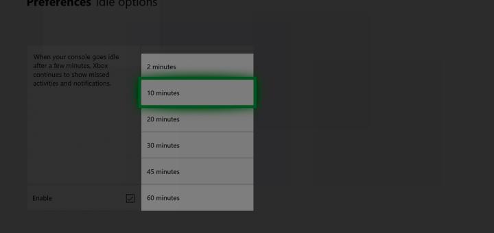 Xbox Fall Creators Update Screen Dimming