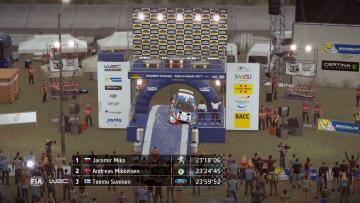 WRC 7 Podium Glitch