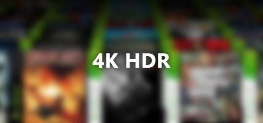 Xbox 360 4K HDR